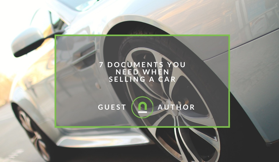 Important documents needed to sell car