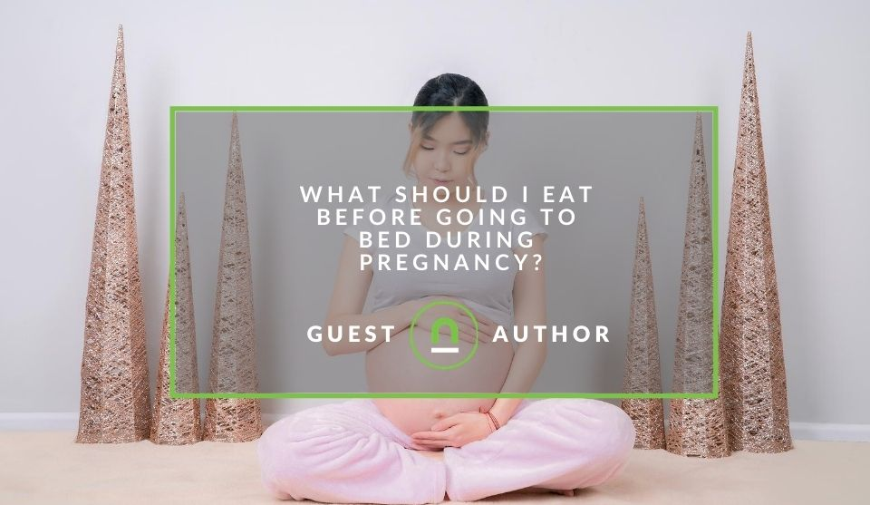 What to eat before bed when pregnant
