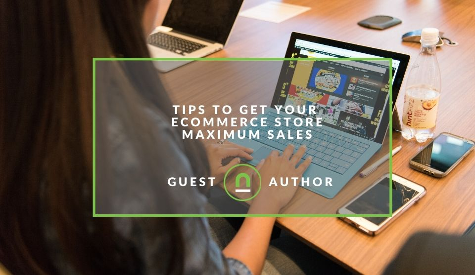 Improve eCommerce store sales