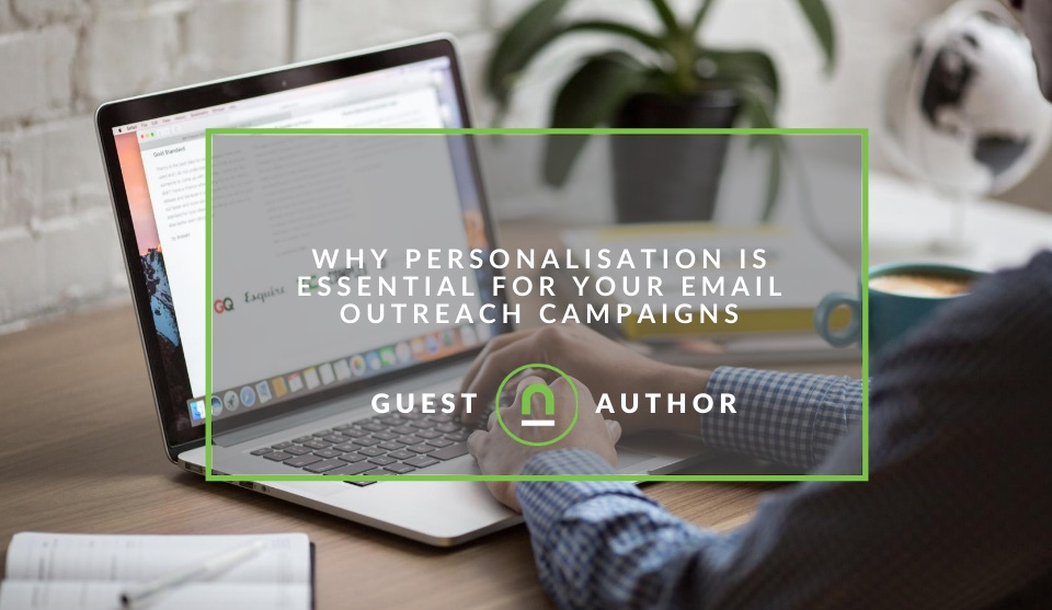 Tips for email personalisation