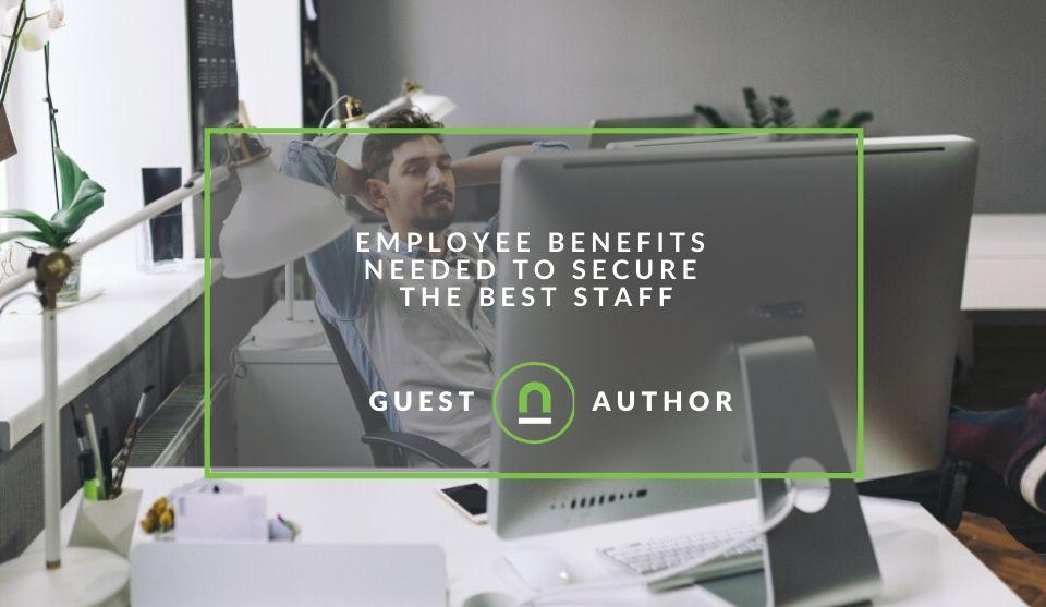 Popular staff benefits