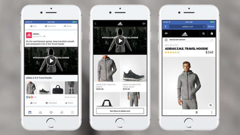 Facebook pushing video product placement and shopping
