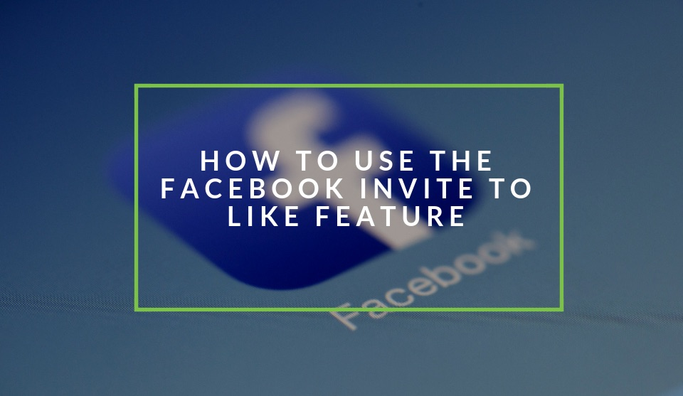 Use facebook Invite to like
