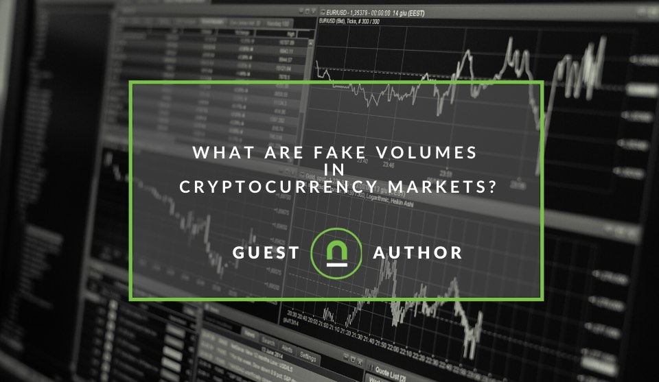 What is crypto fake trading volume