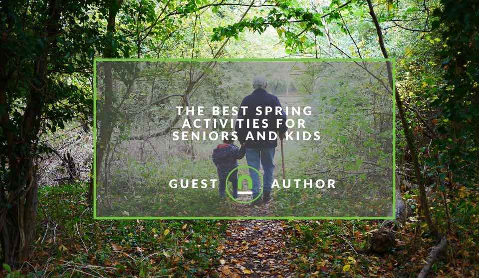 Spring activities with your grand kids