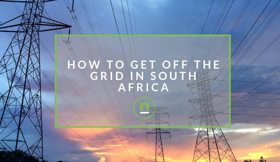Get off the energy grid