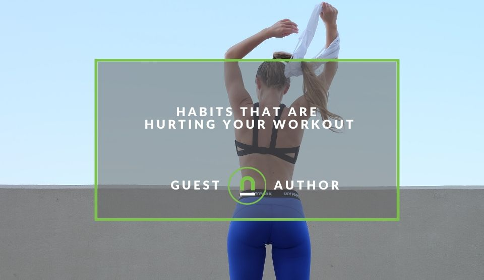 Bad habits for fitness