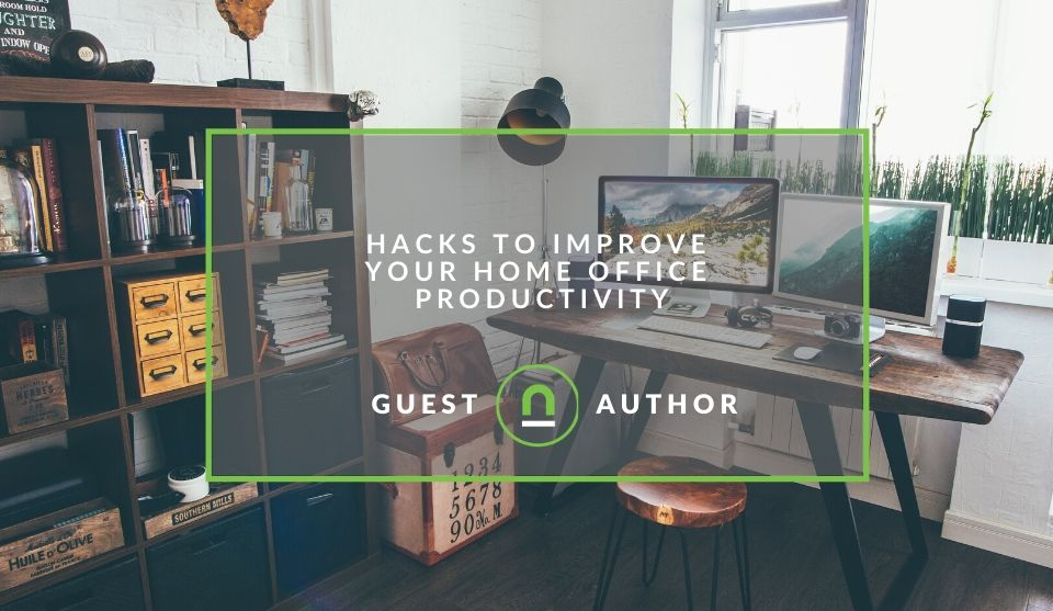 Hacks to improve home office productivity