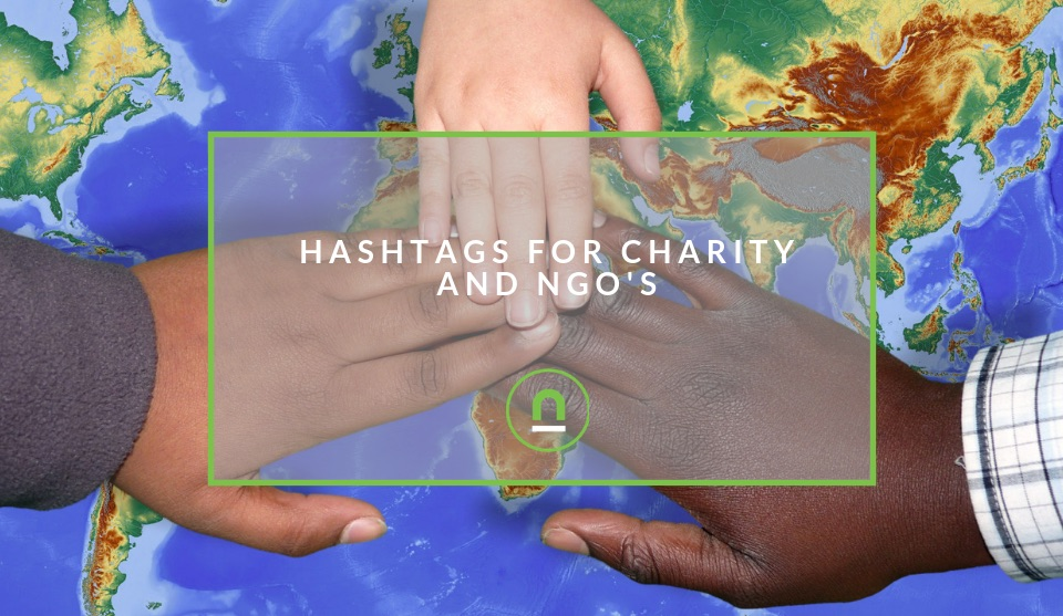 Hashtags for charity
