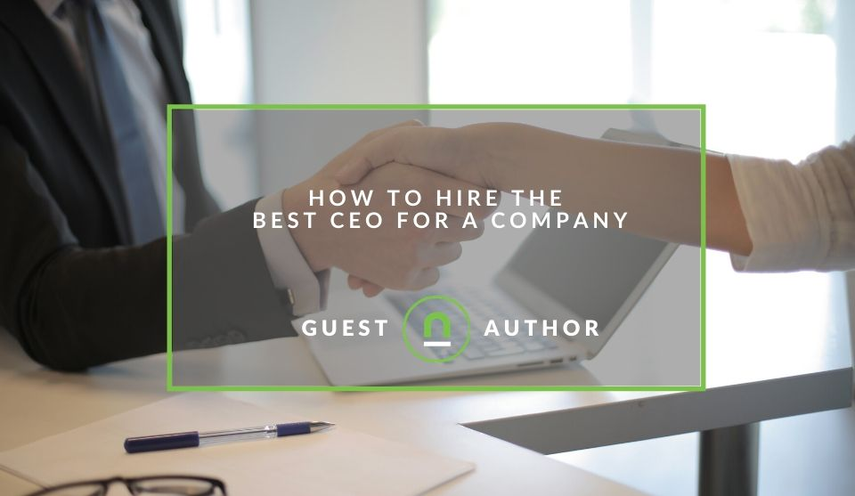 Tips to hire a CEO