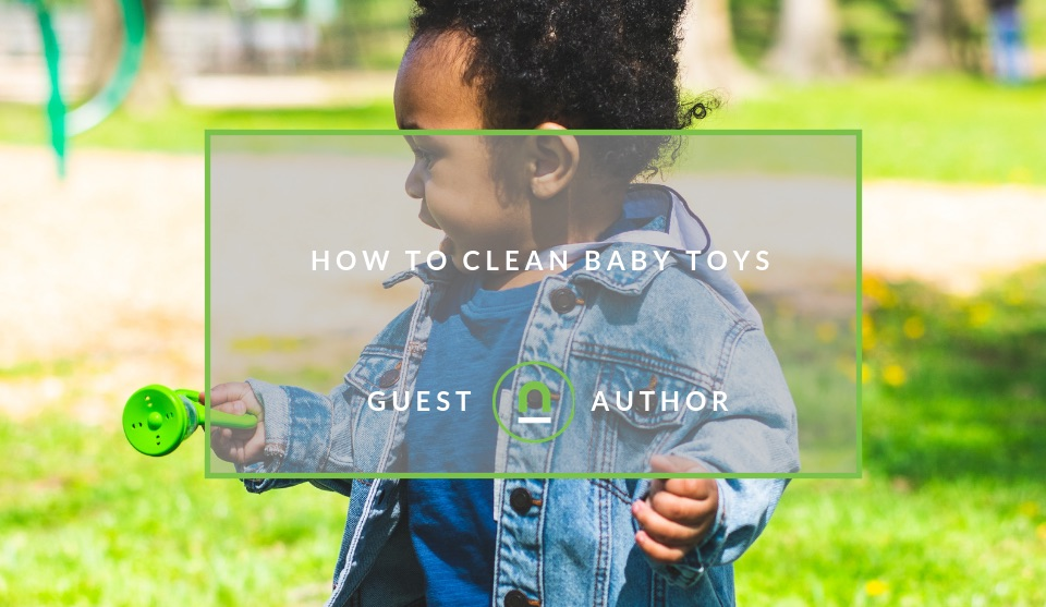 Baby toy cleaning tips