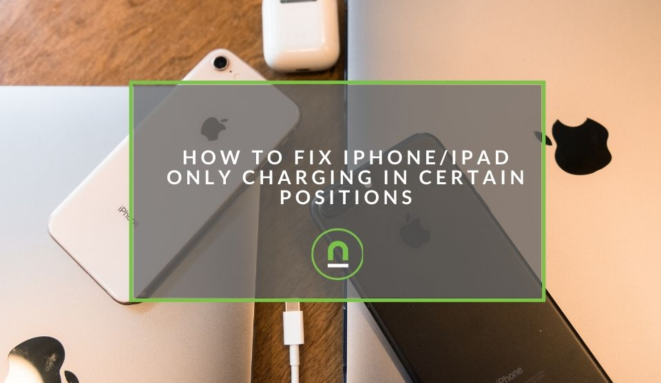 Fix iPhone only charging at angle
