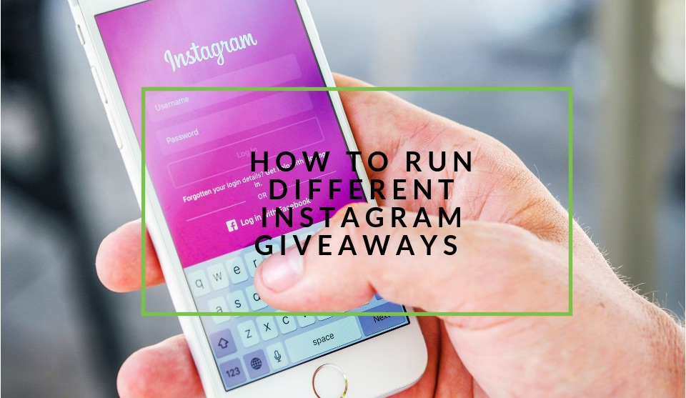 How to run instagram giveaways