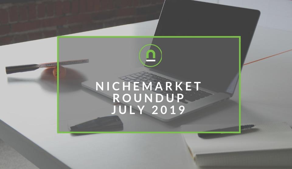 July 2019 site summary