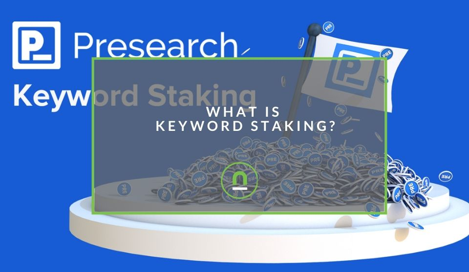 How to stake tokens for keyword traffic