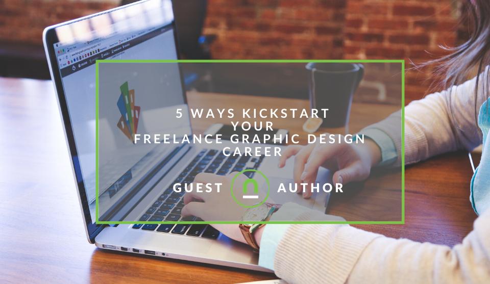 Start freelance graphic design career
