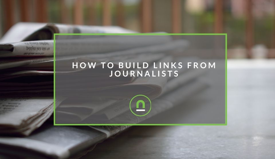Secure backlinks from journalists