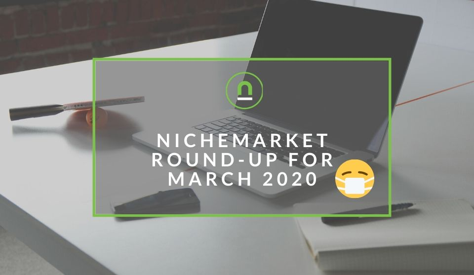 Summary of nichemarket march 2020