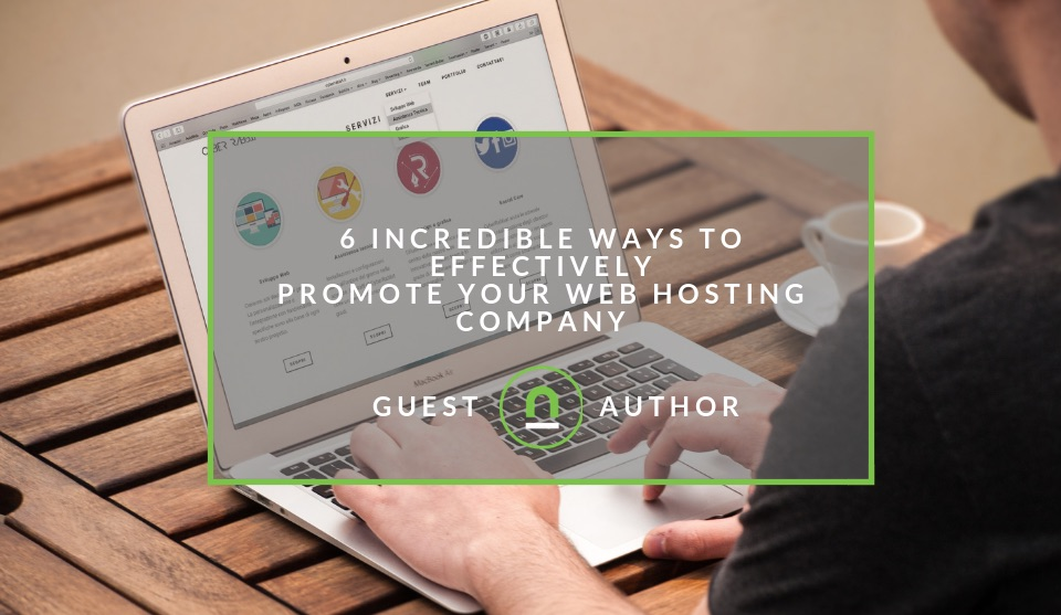 Promoting web hosting services