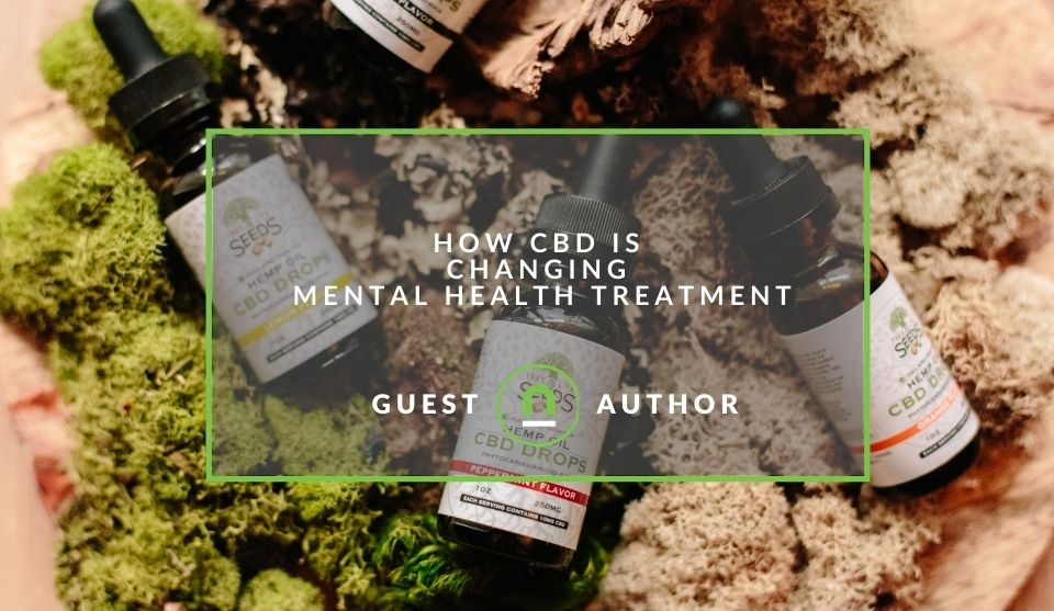 mental health problems treated with CBD
