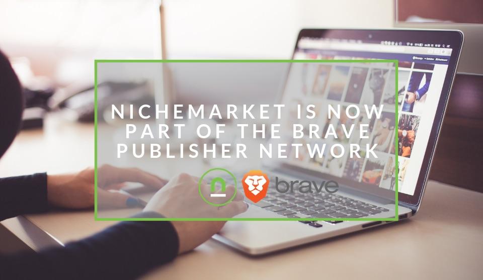 nichemarket joins brave publisher network
