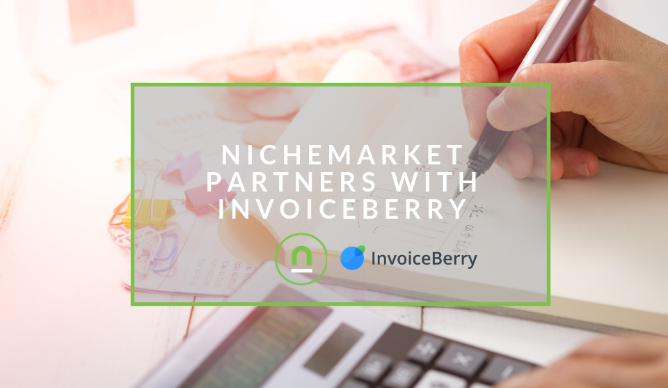 nichemarket partners with invoiceberry