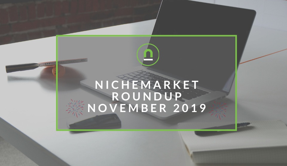nichemarket Round-up For November 2019