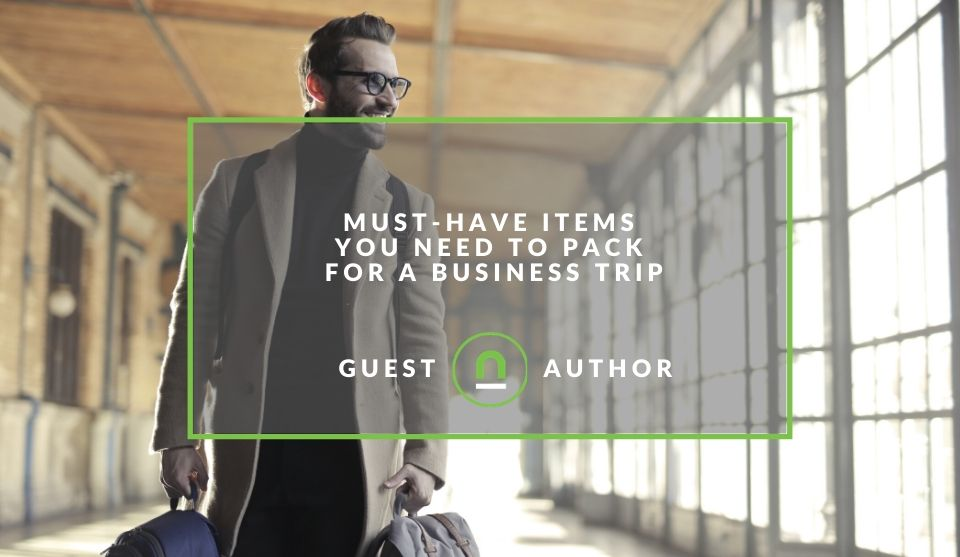 Business travel packing checklist
