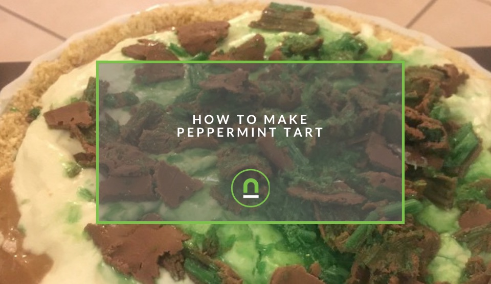 Recipe for Peppermint fridge tart