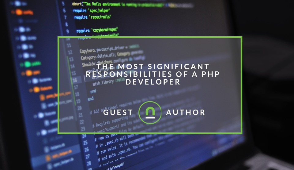 PHP developers responsibilities