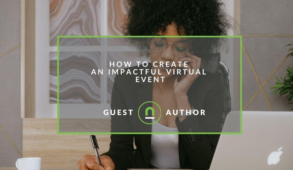 Plan virtual conference