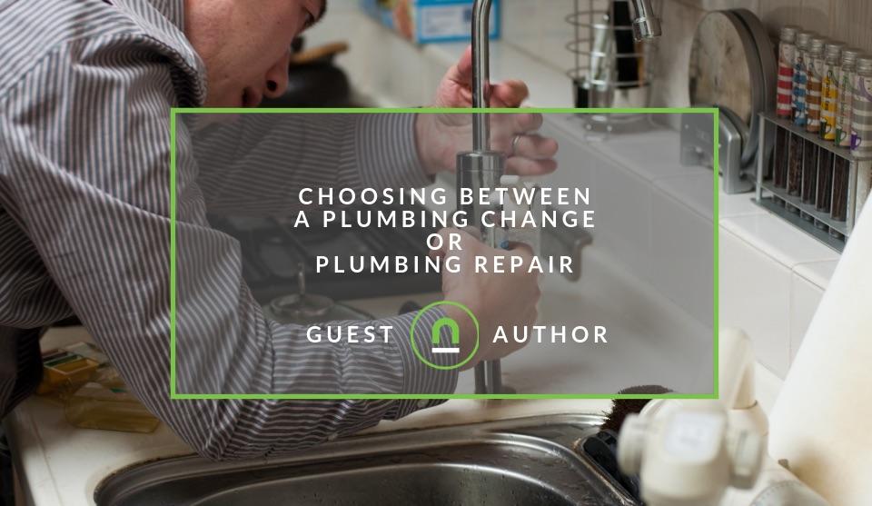 Plumbing repair or replacement