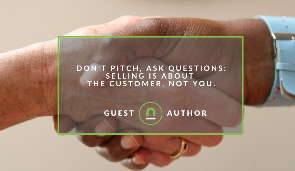 why questions drive a better sales pitch