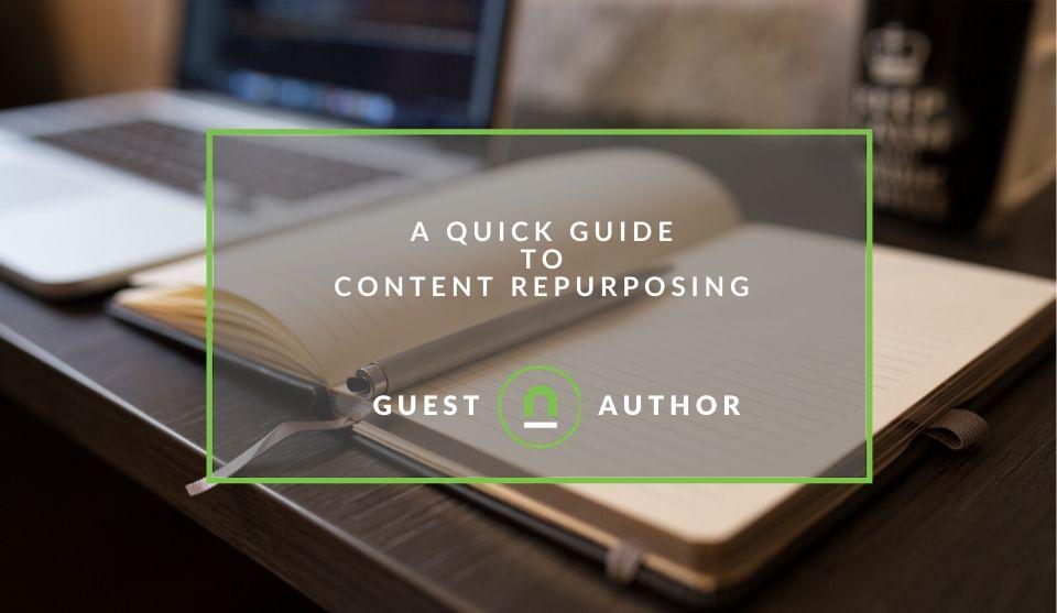 Start repurposing content