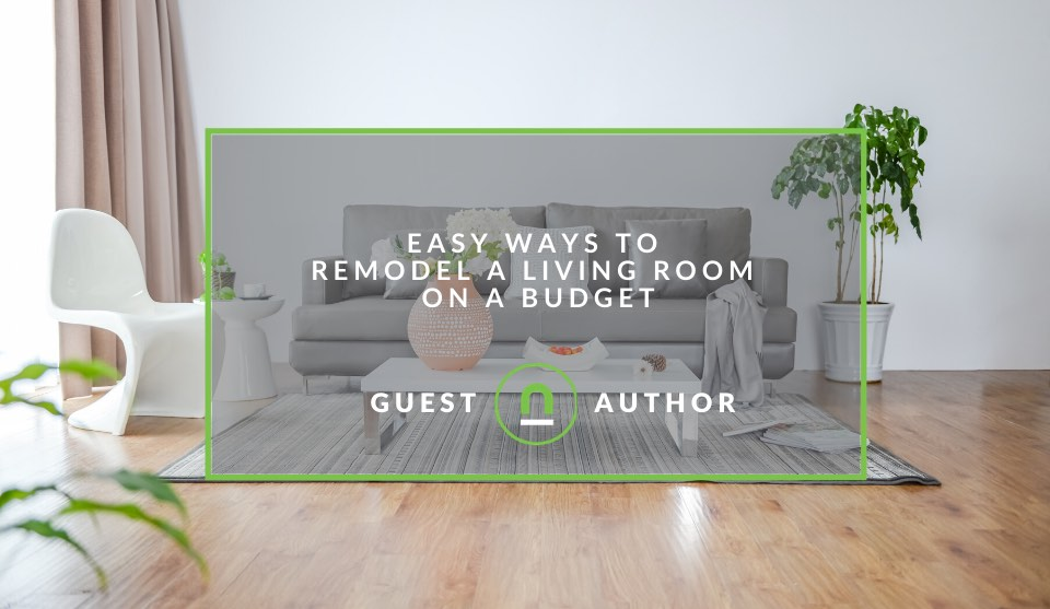 Renovate living room on a budget