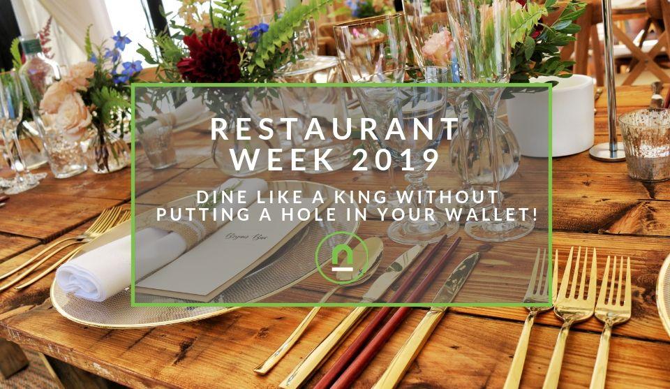 South Africa's Restaurant Week 2019