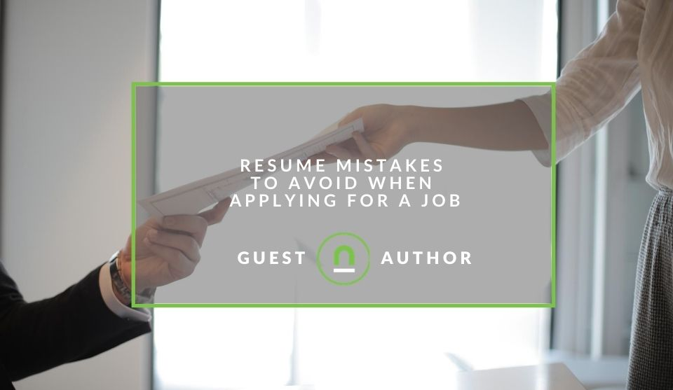 Correct mistakes in your resume
