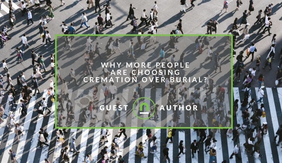 Cremation over burial preferences
