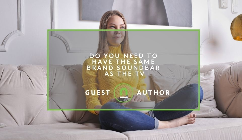 same brand soundbar as TV