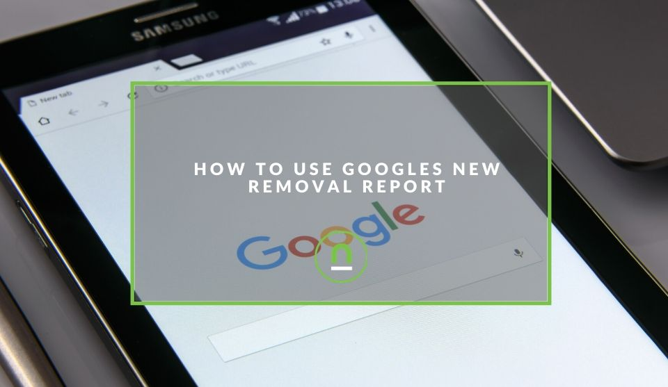 How To use removal report in Search Console