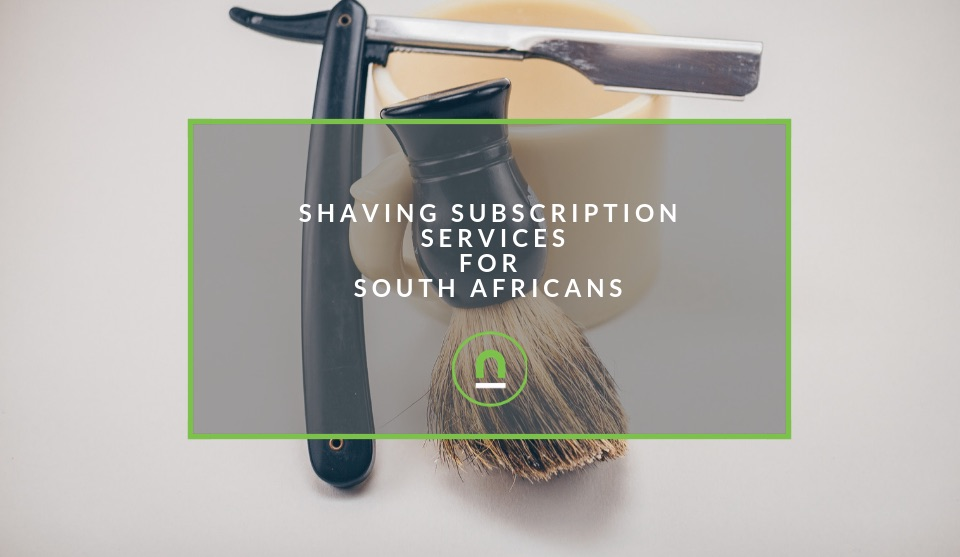 South African online shaving subscription services