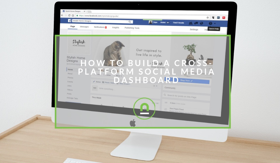 Create custom social media dashboard
