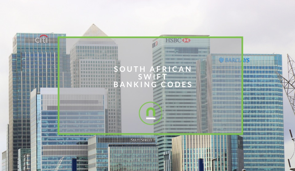 Swift Codes For South African Banks