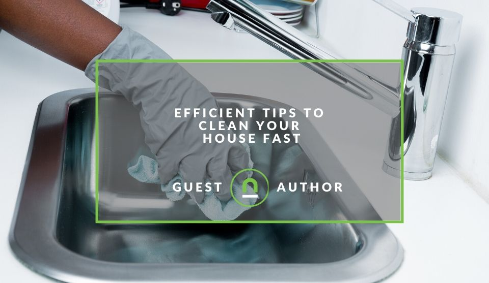 Speedy home cleaning tips