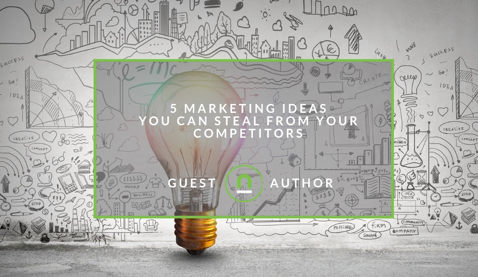 how to steal ideas from competitors