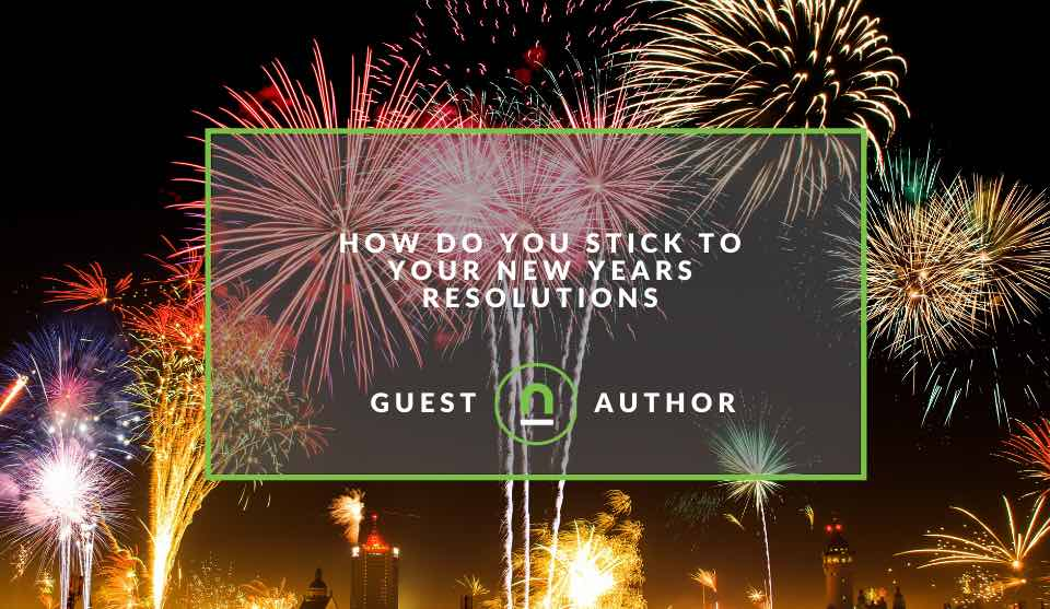 How to stick to a new years resolution