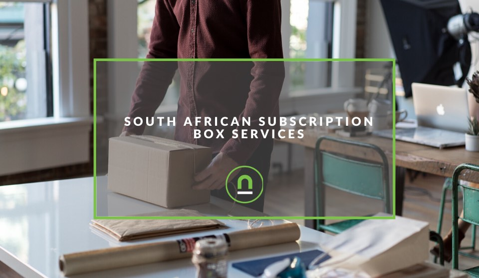 South African subscription box services
