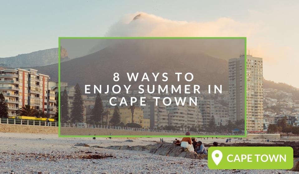 Fun summer activities in Cape Town