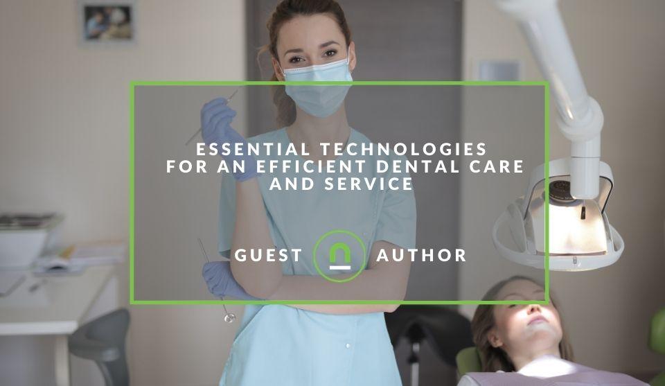 Tech that improves dental care