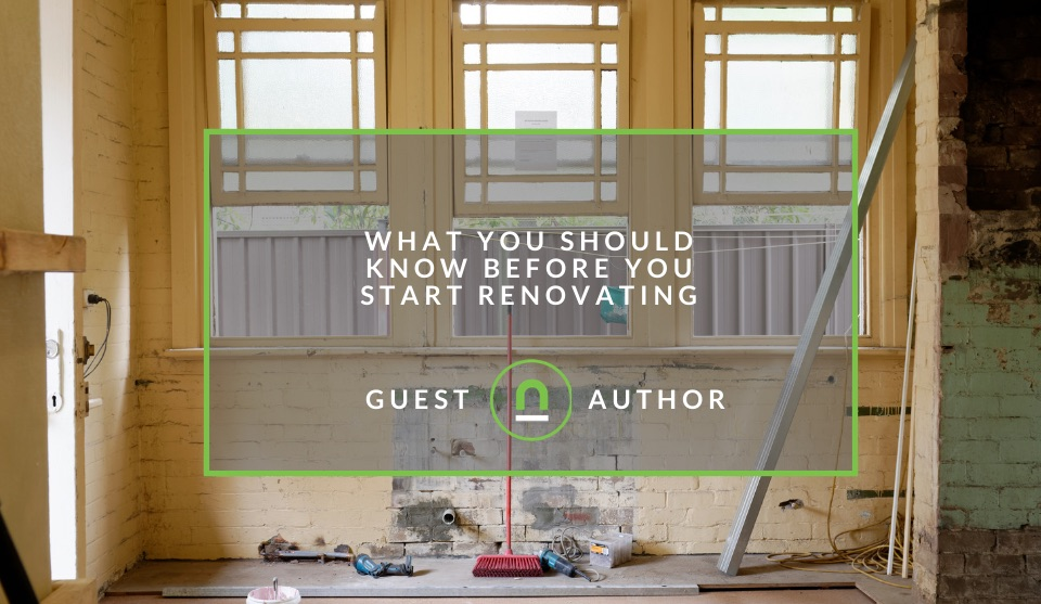 Tips to start renovating your home